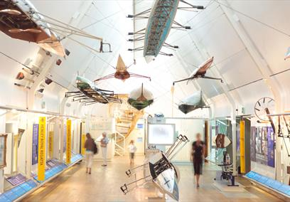 Rowing Gallery in the River & Rowing Museum, Henley on Thames