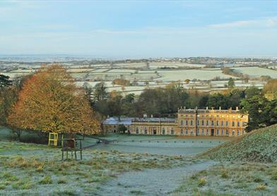 Dyrham Park winter